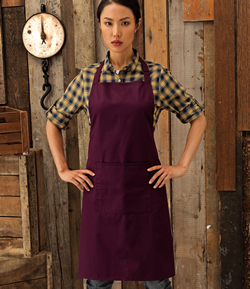 PR154 - Bib Apron (with pocket)